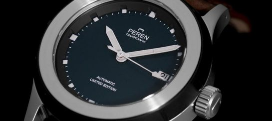 Peren Nera: Transylvanian Swiss Made Neo-Vintage Watch