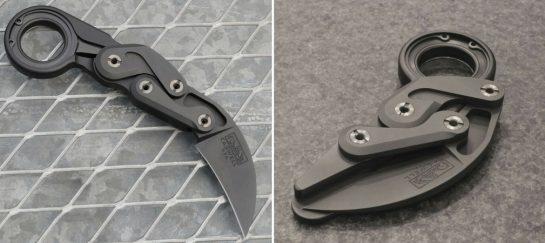 """Caswell """"Morphing Karambit"""" Premium Utility Knife"""